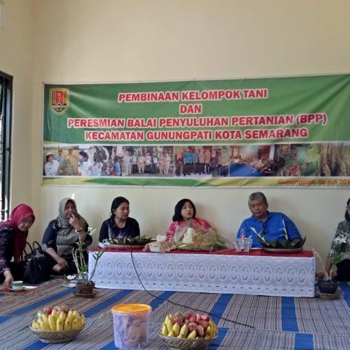 Peresmian Gedung Baru Balai Penyuluhan Pertanian Kec Gunungpati
