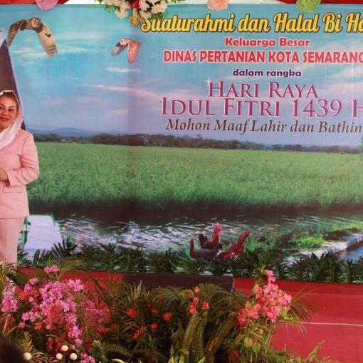 Wakil Walikota Semarang hadiri Halalbihalal DISPERTAN