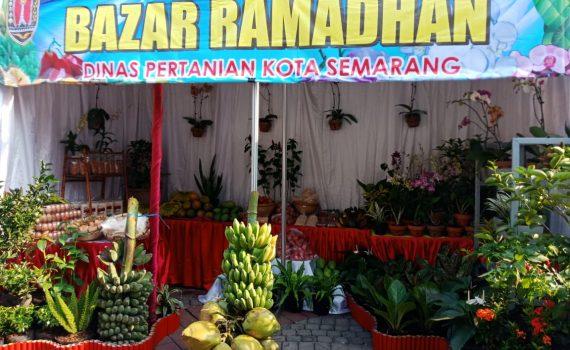 DISPERTAN Ikuti Bazar di Halaman Balaikota Semarang