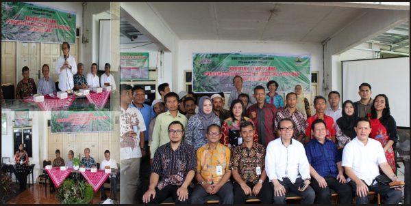 Kunjungan Kerja Komite Ekonomi Dan Industri Nasional Kein Dinas Pertanian Kota Semarang
