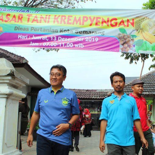 Launching Pasar Tani Krempyengan Dinas Pertanian Kota Semarang
