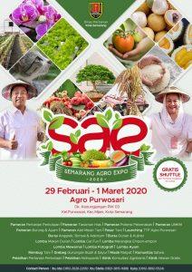 Dispertan Nduwe Gawe Semarang Agro Expo (SAE) 2020