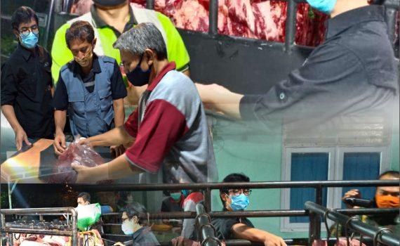 Sidak Daging Sapi Menjelang Hari Raya Idul Fitri 1441 H